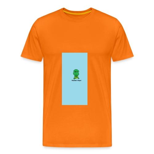 Men's T-Shirt with Turtle Design - Men's Premium T-Shirt