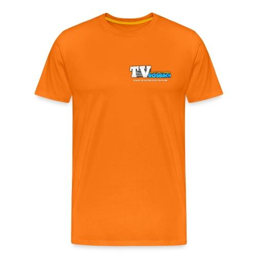 TVROSBACH Logo Vorne - Männer Premium T-Shirt