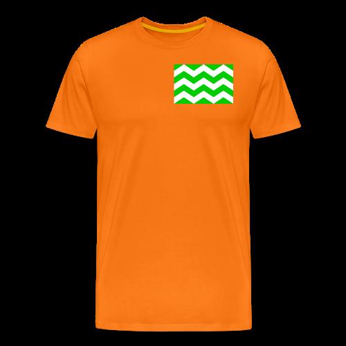 Vlag westland kassen - Mannen Premium T-shirt