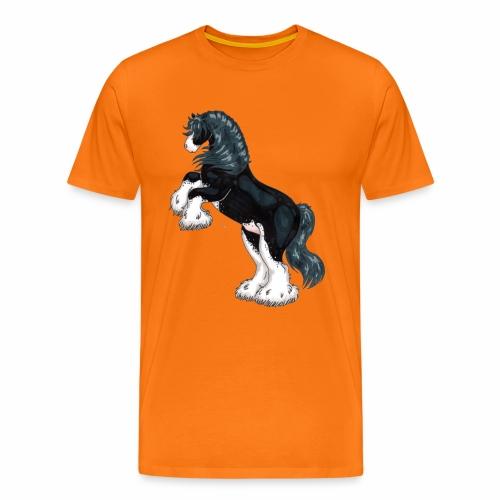 Steigender Tinker schwarz - Männer Premium T-Shirt