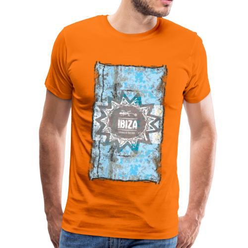 ibiza blau - Männer Premium T-Shirt