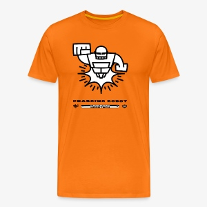 Charging Robot - TINK! Records - Men's Premium T-Shirt