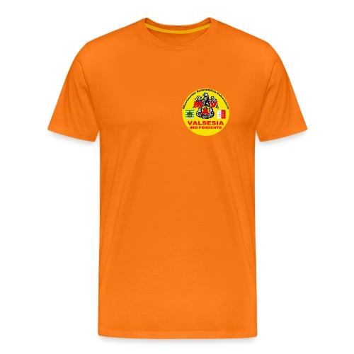 Logo Movimento Autonomista Valsesiano - Maglietta Premium da uomo