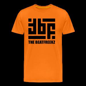 the beatfreekz logo 3 black - Männer Premium T-Shirt