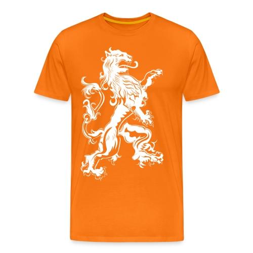 NL Leeuw Koningsdag Rechts - Mannen Premium T-shirt