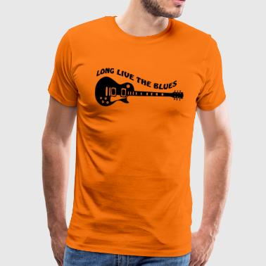 Long Live The Blues - Maglietta Premium da uomo