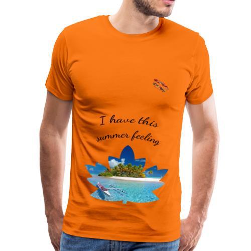 Summer Shirt Randy Design - Männer Premium T-Shirt