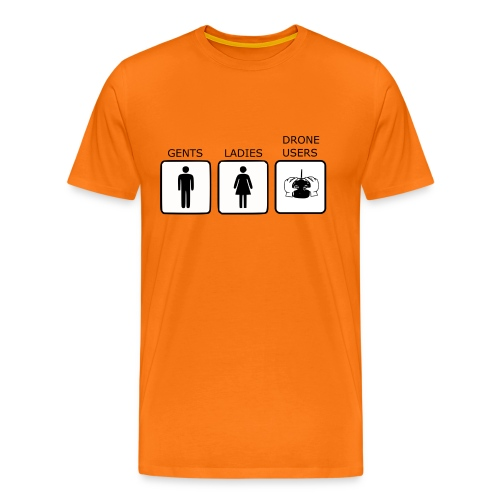 Drone Users - Men's Premium T-Shirt