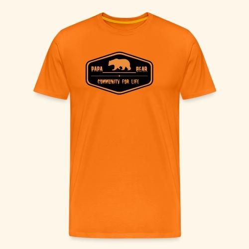 Community Papa - Männer Premium T-Shirt