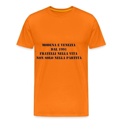 Gemellaggio Modena Venezia - Maglietta Premium da uomo