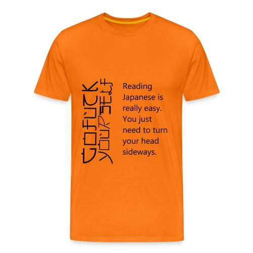für Japaner - Männer Premium T-Shirt