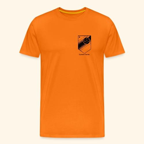 Dynamo Derbe Schwarz Weiß - Männer Premium T-Shirt