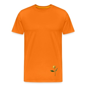 BD YELLOW ROSE - Männer Premium T-Shirt