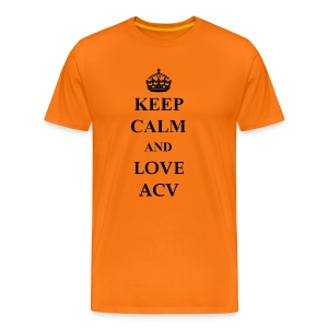 Keep Calm and Love ACV - Männer Premium T-Shirt