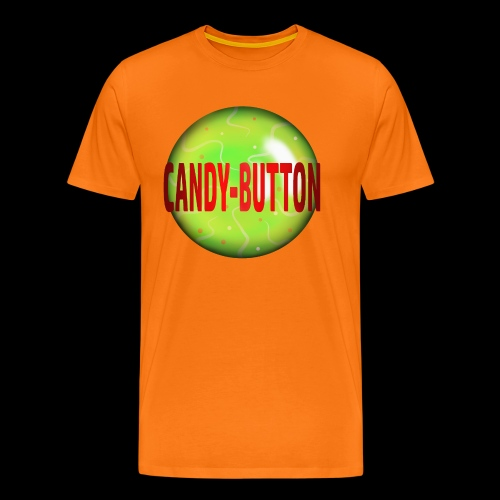 candybutton candy süßigkeiten kinder sweets süßes - Männer Premium T-Shirt