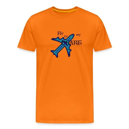 fly to my heart - Männer Premium T-Shirt