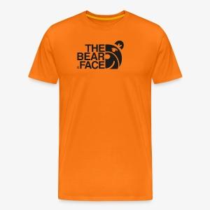 The Bear Face T-shirt (Black) - Camiseta premium hombre