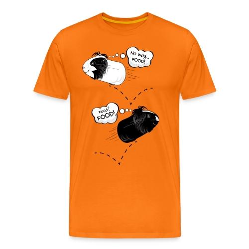 Hungry, happy guinea pigs! - Men's Premium T-Shirt