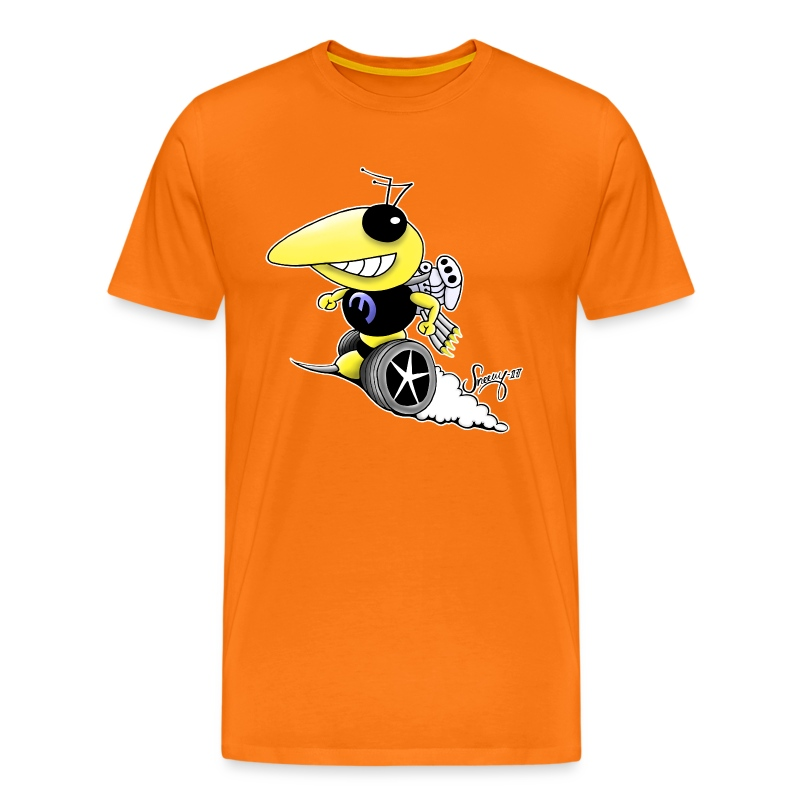 Blower Bee - Premium-T-shirt herr