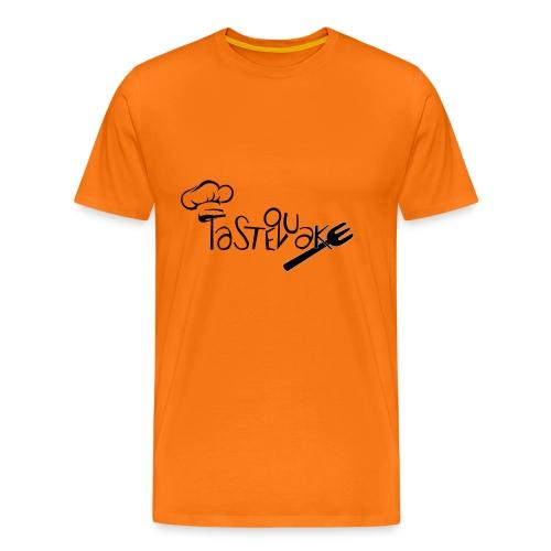 TasteQuake Logo - Männer Premium T-Shirt