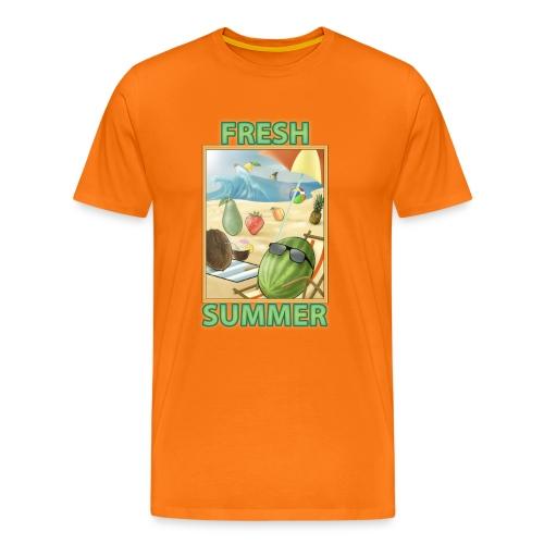 Fruit Fresh Summer - Maglietta Premium da uomo
