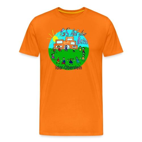 Logo GS Auf der Bein Idar-Oberstein - Männer Premium T-Shirt