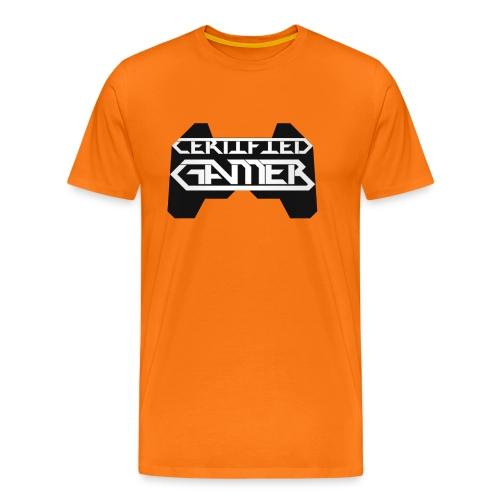 Certified Gamer by JuiceMan Benji - Men's Premium T-Shirt