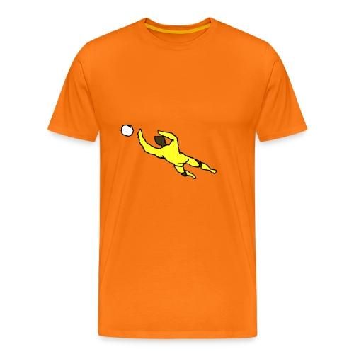 portiere giallo 2 - Maglietta Premium da uomo