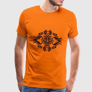 Wzór Fleur - Koszulka męska Premium
