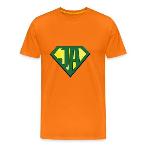 JA super hero - Men's Premium T-Shirt