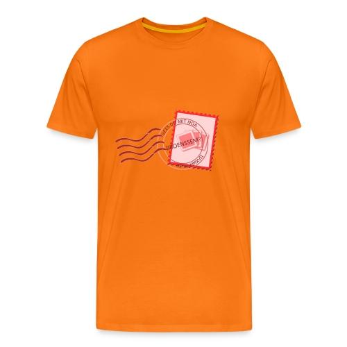Gees du mit noa Broenssum? - Mannen Premium T-shirt
