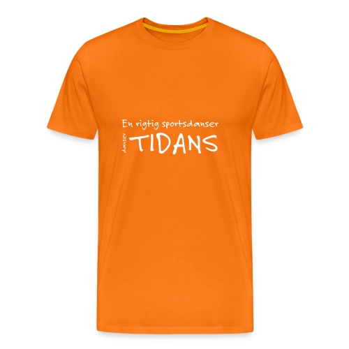 tidans-H - Herre premium T-shirt