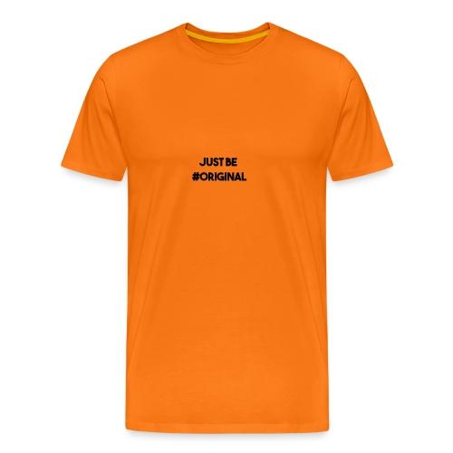 #Original shirt - Mannen Premium T-shirt