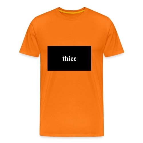 thicc - premium design - Männer Premium T-Shirt