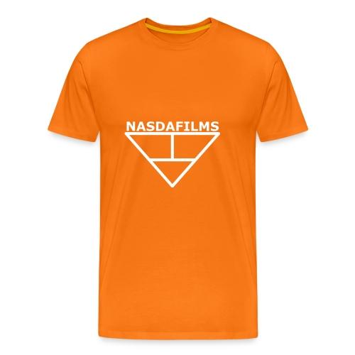 Nasdafilms Hinten - Männer Premium T-Shirt