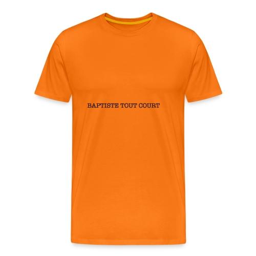 Baptiste Tout Court - T-shirt Premium Homme