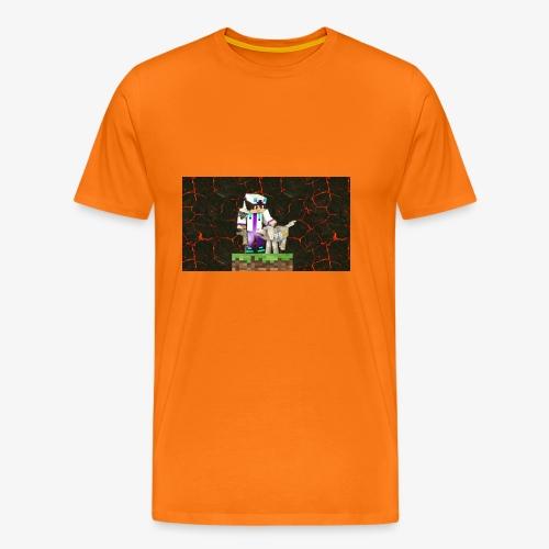 #MinecraftWeapon - Männer Premium T-Shirt