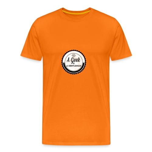 Geek gentleman - Camiseta premium hombre
