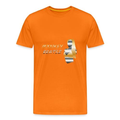 Mxnkey Beatsz Snapback - Mannen Premium T-shirt