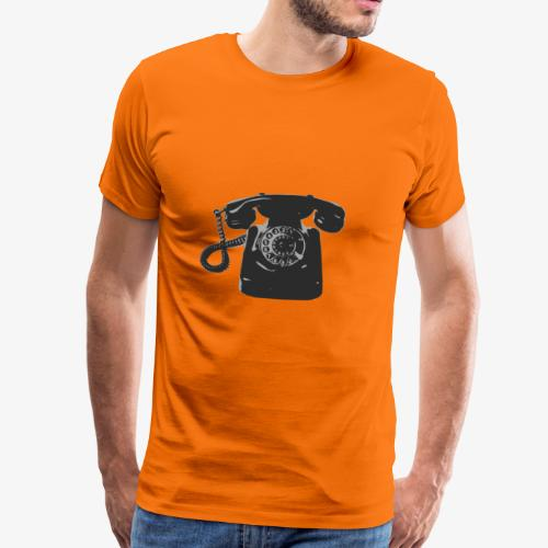 Telefon - Männer Premium T-Shirt