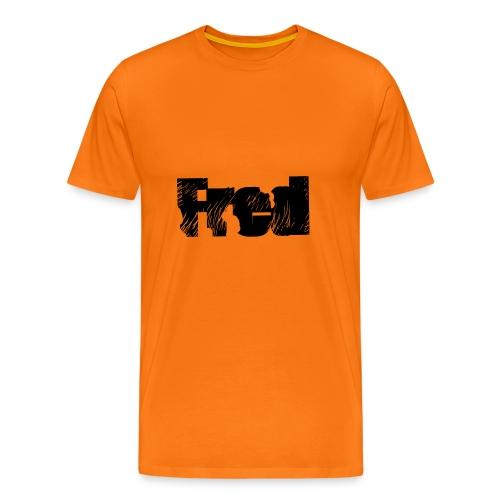 Fred logo - Herre premium T-shirt
