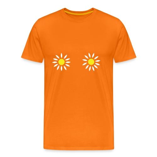 2 Bloemen Vrouwen Hemd - Mannen Premium T-shirt