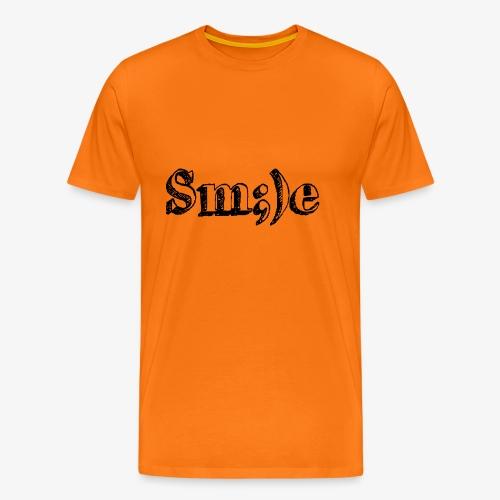 Smile ;) - Männer Premium T-Shirt
