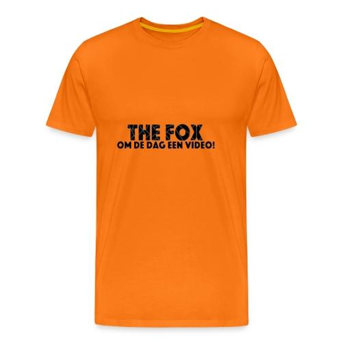 THE FOX - Damesshirt - Mannen Premium T-shirt