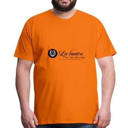 La Tanière des Chiens-Loups(logo plus grand) - T-shirt Premium Homme