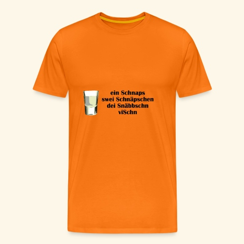 schnaps1 - Männer Premium T-Shirt