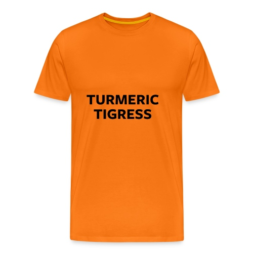 Turmeric Tigress - Men's Premium T-Shirt