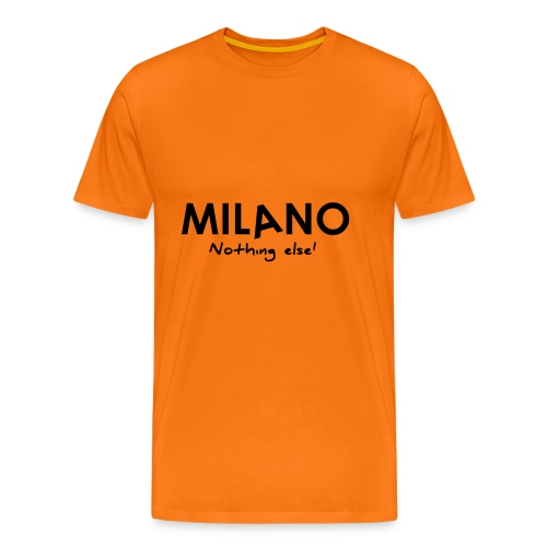 milano nothing else - Maglietta Premium da uomo