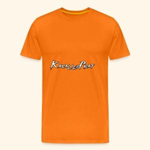 KavalierPirat Schriftzug - Männer Premium T-Shirt