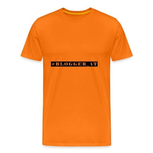 blogger_at - Männer Premium T-Shirt